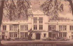 Ohio Wooster Kauke Hall College Of Wooster Artvue