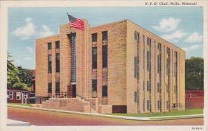 Missouri Rolla The U S O Club Curteich