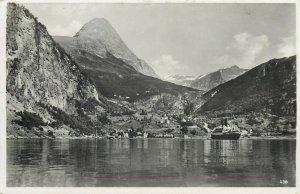 Norway Geiranger ( Merok ) postcard 1935