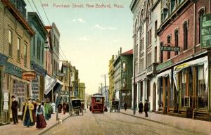 MA - New Bedford. Purchase Street  circa 1900