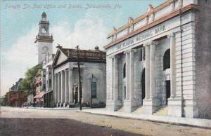 Florida Jacksonville Forsyth Street Post Office &  Florida National Bank