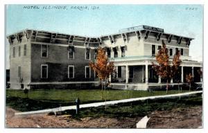 Early 1900s Hotel Illinois, Parma, ID Postcard *4V