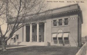 SANTA FE , New Mexico , 1910-30s ; Court House