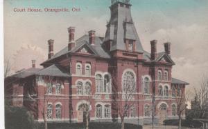 ORANGEVILLE , Ontario , Canada, 1900-10s; Court House