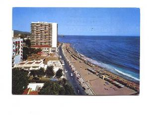 Hotels and Beach, Marbella, Spain