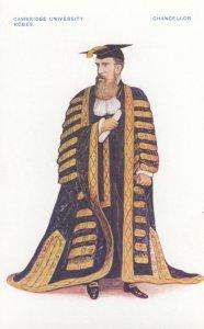 Cambridge, England, 1910s : University Robes, Chancellor