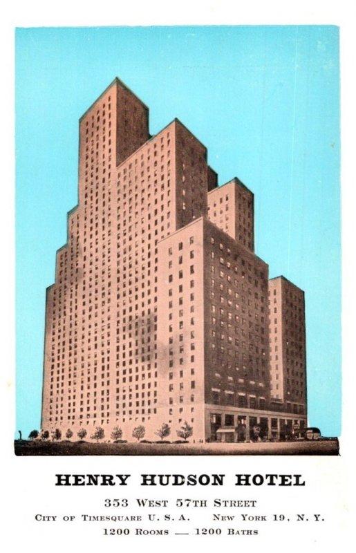 New York City ,  Henry Hudson Hotel