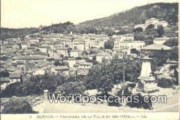La Ville et des Hotels Bormes, France, Carte, Unused