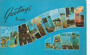Pennsylvania Greetings From Pumatuning Lake 1961