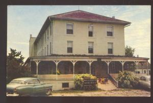CAWKER CITY KANSAS WACONDA SANITARIUM VINTAGE POSTCARD MANHATTAN KANS.