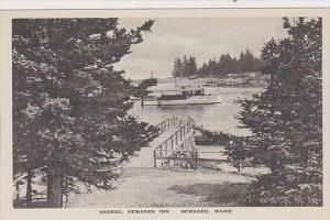 Maine Newagen Harbor Newagen Inn Albertype