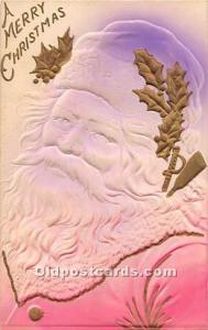 Santa Claus Old Vintage Postcard Santa Claus Postcard