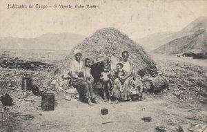 Habitantes do Campo - S. Vicente , Cabo Verde , 00-10s