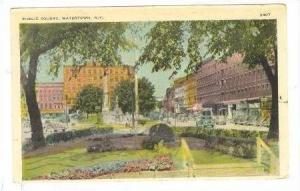 Public Square, Watertown, New York, PU-1920