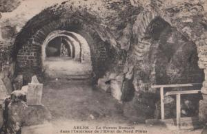 Arles Forum Remain Nord Pinus Ruins Hotel Interior Antique French Postcard