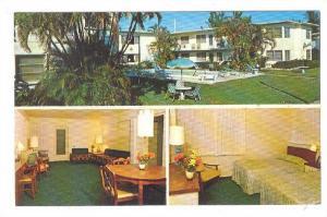 3-Views, Shamrock Apartments, Swimming Pool, Fort Lauderdale, Florida, 40-60s