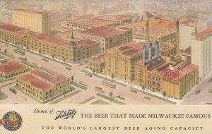 SCHLITZ , The Beer that Made Milwaukee famous , Wisconsin , 1930-40s