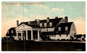 Rhode Island  Narragansett  Pier ,  Wanamaker Cottage