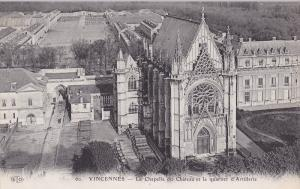 Vincennes, Val-de-Marne , France , 00-10s : La Chapelle du Chateau et le quar...