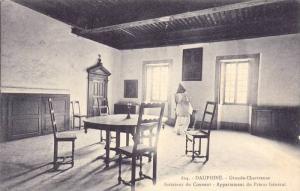 Interieur Du Couvent, Appartement Du Prieur General, Dauphine, France, 1900-1...