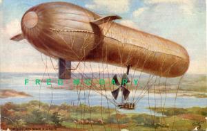 1911 Tuck Oilette Postcard 9495: Von Perseval's Motor-Driven War Airship