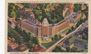 Arkansas Hot Springs New Army and Navy Hospital Curteich