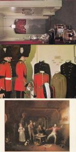 Royal Fusiliers Museum Tower Of London Uniform 3x Postcard s
