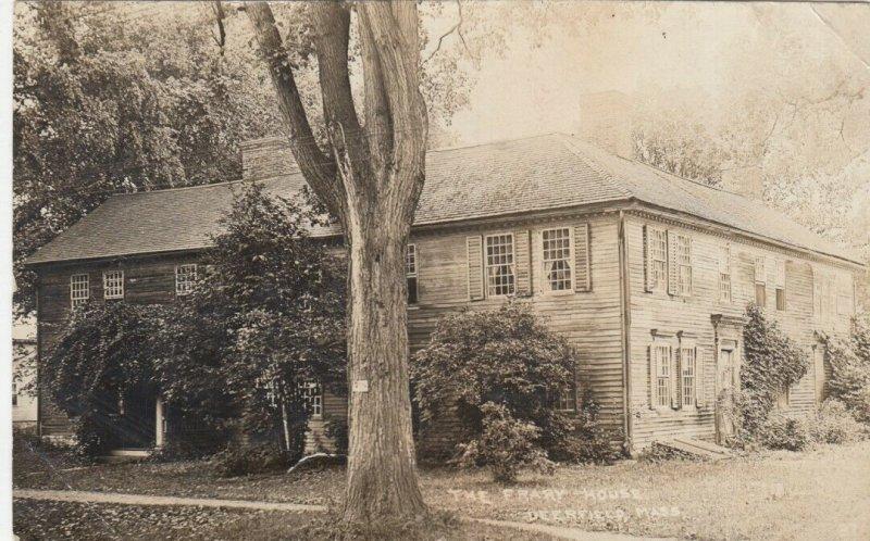 RP: DEERFIELD , Massachusetts , 1915 ; Frary House