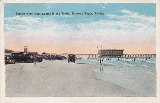 Fastest Auto Race Course In The World Dytona Beach Florida 1927