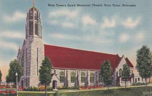 Nebraska Boystown Dowd Memorial Chapel