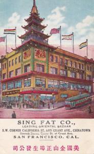 California San Francisco Sing Fat Oriental Bazaar