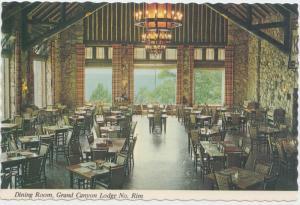 Dining Room, Grand Canyon Lodge, Grand Canyon National Park, Arizona, Postcard