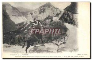 Old Postcard Insurance In Taurus Jura Zurich