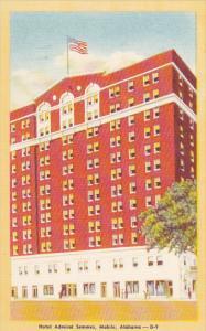 Alabama Mobile Hotel Admiral Semmes