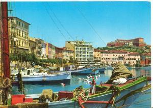 Italy, Portoferraio, Isola d'Elba, La Darsena, 1977 used Postcard
