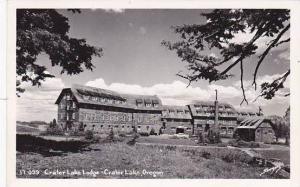 Oregon Crater Lake Crater Lake Lodge 1951 Real Photo
