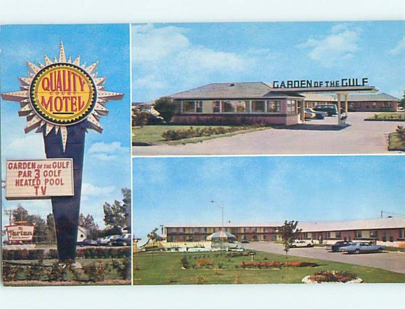 Pre-1980 GARDEN OF THE GULF MOTEL Summerside Prince Edward Island PE o0561