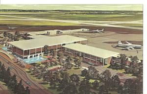 1967 New Terminal Building, Tulsa International Airport, Oklahoma