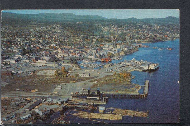 Canada Postcard - Aerial View of Nanaimo, British Columbia   RS20137