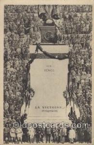 La Victoire Military, WW I, World War I, Postcard Postcards  La Victoire