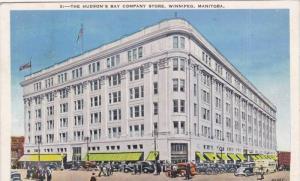 Exterior, The Hudson's Bay Company Store, Winnipeg, Manitoba, Canada, PU_1938