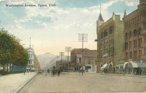 OGDEN, Utah, 1900-10s; Washington Avenue
