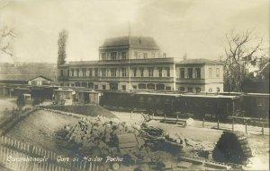 turkey, CONSTANTINOPLE, Gare de Haldar Pacha, Railway Station (1910s) RPPC