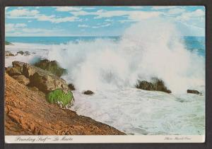 Pounding Surf, La maree, Quebec - Unused - Corner Wear