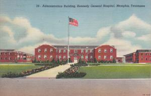 MEMPHIS, Tennessee; Administration Building, Kennedy General Hospital, 30-40s