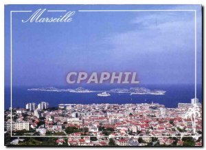 Postcard Modern Provence and its charms Marseille Le Chateau d'If and Frioul ...