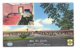 Bon Air Courts, Allendale, South Carolina, 40-60s
