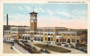 New Missouri Pacific Depot Little Rock, Ark, USA Arkansas Train Unused
