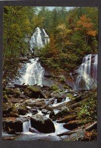 GA Anna Ruby Falls Chattahoochee National Forest Alpine Helen Georgia Postcard