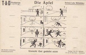 German Delmas'sche Hilfsbilder Die Aepfel The Apples sk3522